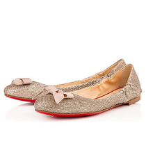 Christian Louboutin Platform Plain Toe Plain Espadrille Shoes