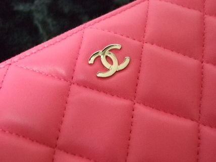CHANEL Clutches Lambskin Clutches 2