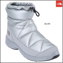 THE NORTH FACE Argile Platform Round Toe Faux Fur Street Style