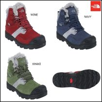THE NORTH FACE Argile Platform Mountain Boots Round Toe Street Style