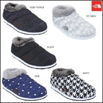 THE NORTH FACE Argile Platform Round Toe Faux Fur Street Style Plain