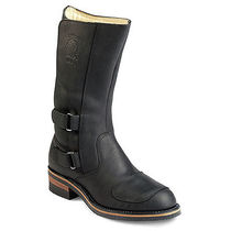 CHIPPEWA Leather Mid Heel Boots