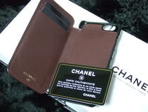 CHANEL MATELASSE Plain Leather Smart Phone Cases