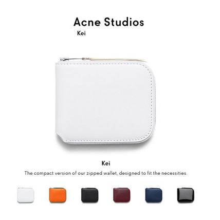 ACNE Kei leather wallet