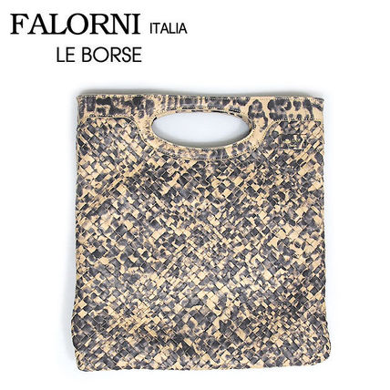 Leopard Patterns Leather Totes