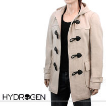 Hydrogen Short Wool Plain Duffle Coats