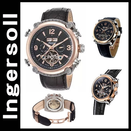 Street Style Leather Analog Watches