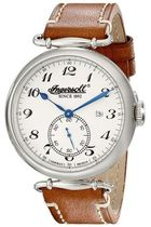 INGERSOLL Street Style Leather Round Analog Watches