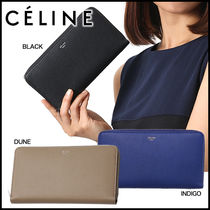 CELINE Calfskin Long Wallets