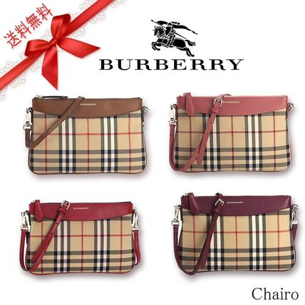 Burberry Leather Shoulder Bags