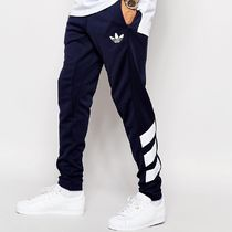 adidas Stripes Sweat Street Style Bi-color Joggers & Sweatpants