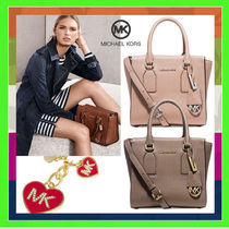 Michael Kors 2WAY Plain Leather Handbags