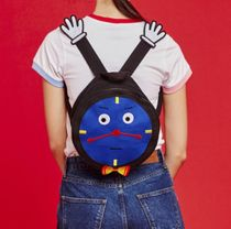 LAZY OAF Tropical Patterns Street Style Backpacks