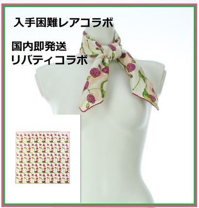 Silk Collaboration Lightweight Scarves & Shawls