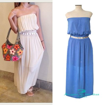 Casual Style Maxi Long Handmade Dresses