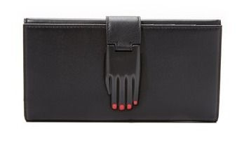 OPENING CEREMONY Plain Leather Long Wallets