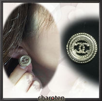 CHANEL ICON Costume Jewelry Party Style Earrings & Piercings