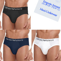 EMPORIO ARMANI Street Style Plain Cotton Briefs