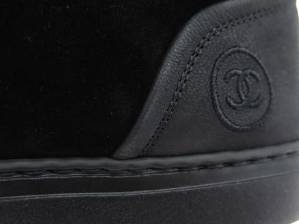 CHANEL Sneakers Leather Sneakers 3