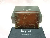 Berluti Leather Card Holders