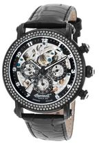 INGERSOLL Street Style Leather Round Mechanical Watch Analog Watches