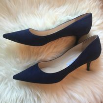 Jimmy Choo Suede Plain Office Style Pointed Toe Pumps & Mules