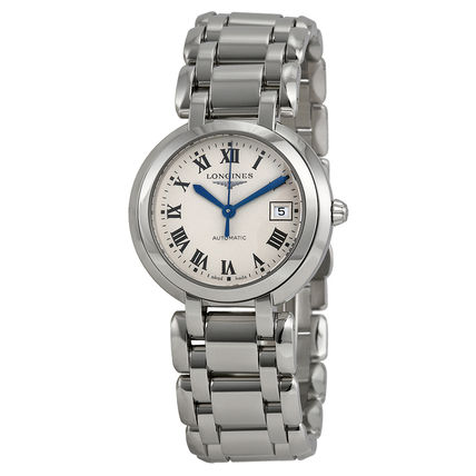Round Mechanical Watch Stainless Analog Watches