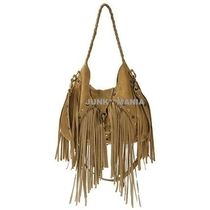 J.J. WINTERS Suede A4 2WAY Plain Handbags