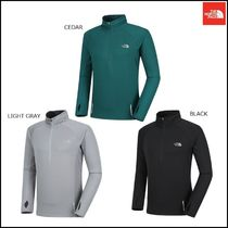THE NORTH FACE Argile Wool Low Gauge Street Style Long Sleeves Plain