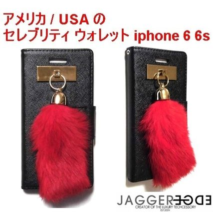 Blended Fabrics Tassel Handmade Smart Phone Cases