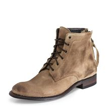 SENDRA Boots Plain Toe Plain Leather Boots