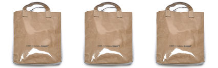 Casual Style Unisex 2WAY Totes