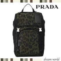 PRADA Nylon Backpacks