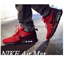 Nike AIR MAX Monogram Driving Shoes Street Style Bi-color