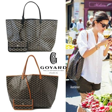 GOYARD St. Louis GM black unisex