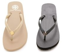 Tory Burch Plain Flip Flops Flat Sandals