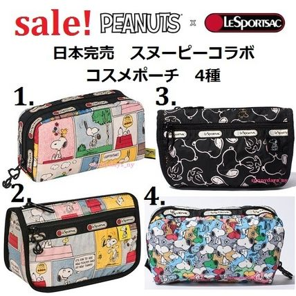 Nylon Collaboration Pouches & Cosmetic Bags