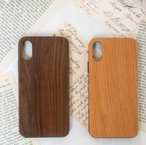 Plain Silicon Handmade Made of Wood iPhone 8 iPhone 8 Plus