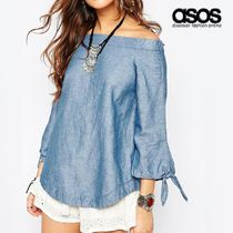 ASOS Casual Style Cotton Bandeau & Off the Shoulder