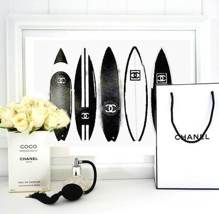 A4/A3CHANEL channel surf board art poster 5