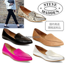 Steve Madden Street Style Leather Slip-On Shoes