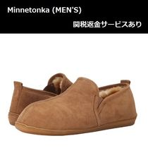 Minnetonka Sheepskin Plain Loafers & Slip-ons