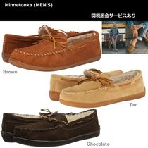 Minnetonka Moccasin Suede Plain Loafers & Slip-ons