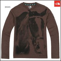 THE NORTH FACE Dots Low Gauge Street Style Long Sleeves