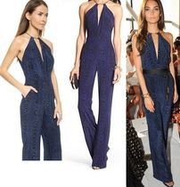 DIANE von FURSTENBERG Silk Sleeveless Long Party Style Jumpsuits & Rompers