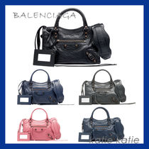 BALENCIAGA CITY Plain Handbags