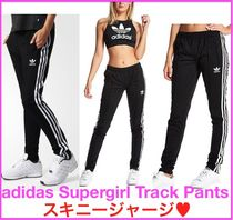 adidas SUPERSTAR Sweat Street Style Long Bottoms