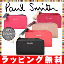 Paul Smith Heart Plain Leather Keychains & Bag Charms