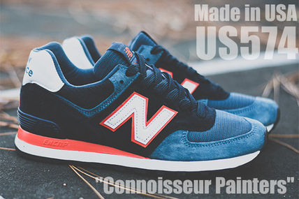 "New Balance 574 US574BL Made in USA ""Connoisseur Painters"""