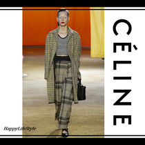 CELINE Wool Long Coats